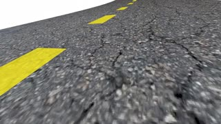 Enjoy The Ride Driving Road Words Transportation 3 D Animation