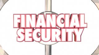 Financial Security Bear Trap Protect Wealth Words 3d Animation
