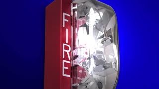 Fire Drill Alarm Words Emergency Exercise 3 D Animation