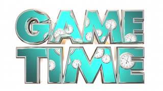 Game Time Sports Competition Start Begin 3d Animation