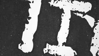 Guilty Crime Suspect Dead Body Murder Chalk Outline Animation