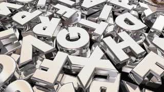 Information Word Letters Research Find Answers 3 D Animation