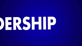 Leadership Inspire Coach Motivate Word Collage 3d Animation