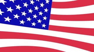 Massachusetts MA USA United States America Flag Map 3d Animation