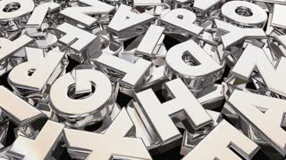 Message Word Letters Communication 3 D Animation