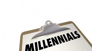 Millennials Checklist Clipboard Characteristics Generation Y 4K