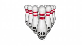 New Tech Vs Beats Old Technology Bowling Ball Strike 3d Animation