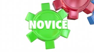 Novice Learning Skilled Advanced Expert Gears Education Training