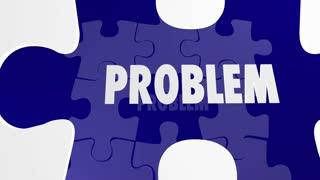 Problem Solution Puzzle Pieces Fill Hole Solve Issue