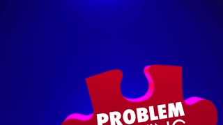 Problem Solving Fix Issue Trouble Repair Puzzle PIeces 3d Animation