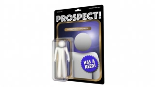 Prospect New Customer Targeting Sales Marketing 3 D Animation