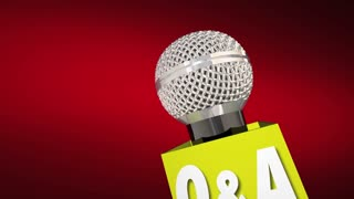 Q and A Questions Answers Microphone Get Information Solution