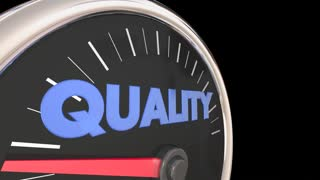 Quality Improving Speedometer Top Level 3d Animation