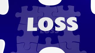 Retention Vs Loss Puzzle Piece Hold Onto Keep 3 D Animation
