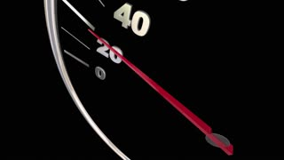 Rideshare Speedometer Transportation New Mobility 3 D Animation