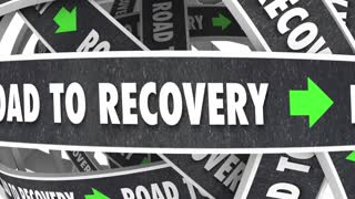 Road To Recovery Get Better Improvement 3 D Animation