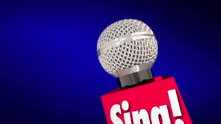Sing Microphone Word Talent Audition Perform Song
