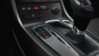 Speed Car Auto Gear Shift Interior Fast Performance Word 3 D Animation