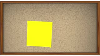 Steps Instructions 1 2 3 Bulletin Board Sticky Notes