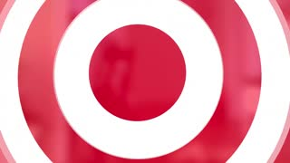 Target Costs Arrow Bullseye Reduce Spending 3 D Animation