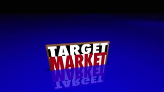 Target Market People Customers Clients Prospects 3d Animation
