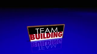 Team Building Groups People Signs Meeting Huddle 3 D Animation