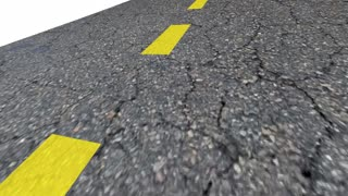 The Right Track Road Street Words Best Path 3 D Animation