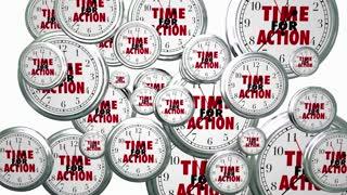 Time for Action Clocks Flying Proactive Effort Plan