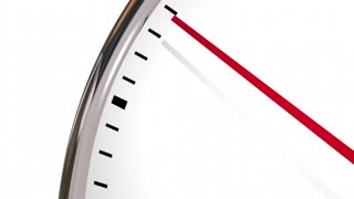 Time To Negotiate Reach Agreement Clock 3 D Animation