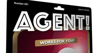 Agent Action Figure Representative 3 D Animation