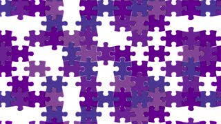 Alzheimers Disease Puzzle Pieces Health Care Treatment Condition 3 D Animation