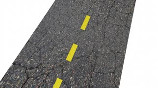 Attitude Positive Outlook Good Vision Road Word 3 D Animation
