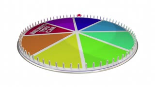 Believe You Can Hope Faith Confidence Game Wheel 3 D Animation