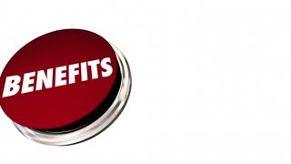 Benefits Button Features Bonus Qualities 3 D Animation