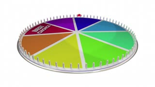 Best Choice Recommended Reviewed Product Game Show Wheel 3 D Illustration