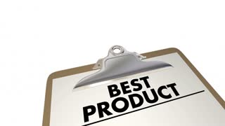 Best Product Checklist Price Quality Value 3 D Animation