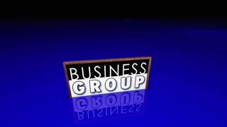 Business Groups People Working Teams Organized Job Clubs 3 D Animation