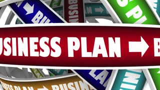 Business Plan Strategy Goal Mission 3 D Animation