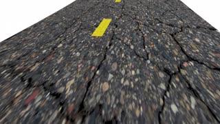 California Ca Road Map Word Travel Tourism Destination 3 D Animation