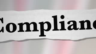 Compliance Regulations Laws Rules News Headlines 3 D Animation