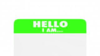 Confident Sure Certain Confidence Name Tag 3 D Animation