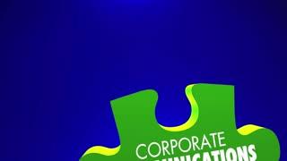 Corporate Communications Marketing Pr Puzzle 3 D Animation