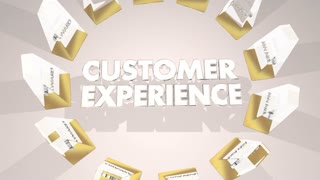 Customer Experience Awards Best Top Cx Winners 3 D Animation