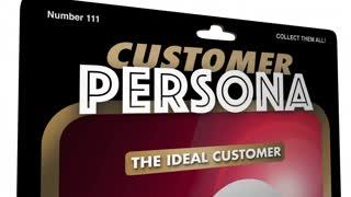 Customer Persona Action Figure Buyer Profile 3 D Animation