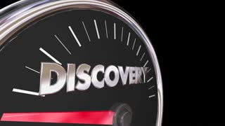 Discovery Speedometer New Findings Explore 3 D Animation