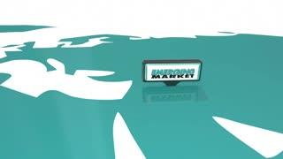 Emerging Markets International Growth Signs 3 D Animation