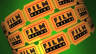 Film Making Director Movie Production Tickets 3 D Animation
