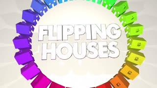 Flipping Houses Homes Resell Real Estate 3 D Animation
