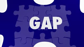 Gap Get It Covered Puzzle Pieces Close Fill In Hole 3 D Animation