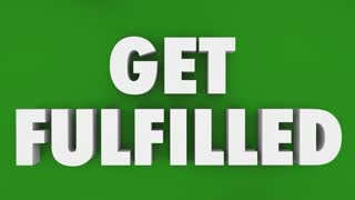 Get Fulfilled Puzzle Hole Complete Total Fulfillment 3 D Animation